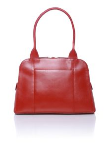 Millbank red medium shoulder bag