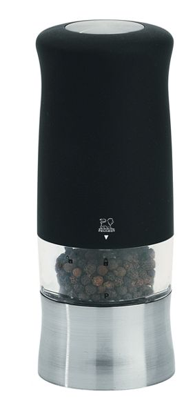 Peugeot Zephir Soft Touch Electric Pepper Mill 14cm