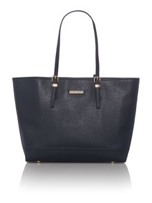 Honey navy tote bag