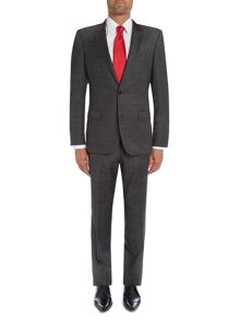 Huge Genius Plain Slim Fit Suits