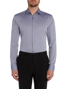 Hugo Boss Jenno Pattern Slim Fit Long Sleeve Shirt