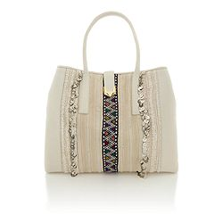 Matthew Williamson Nomad Large Tote Bag (White)