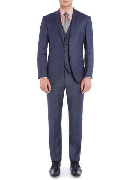 Corsivo Antonio Textured Suit Trousers