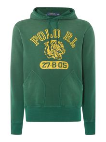 Polo Ralph Lauren Polo Rl Logo Hooded Sweatshirt