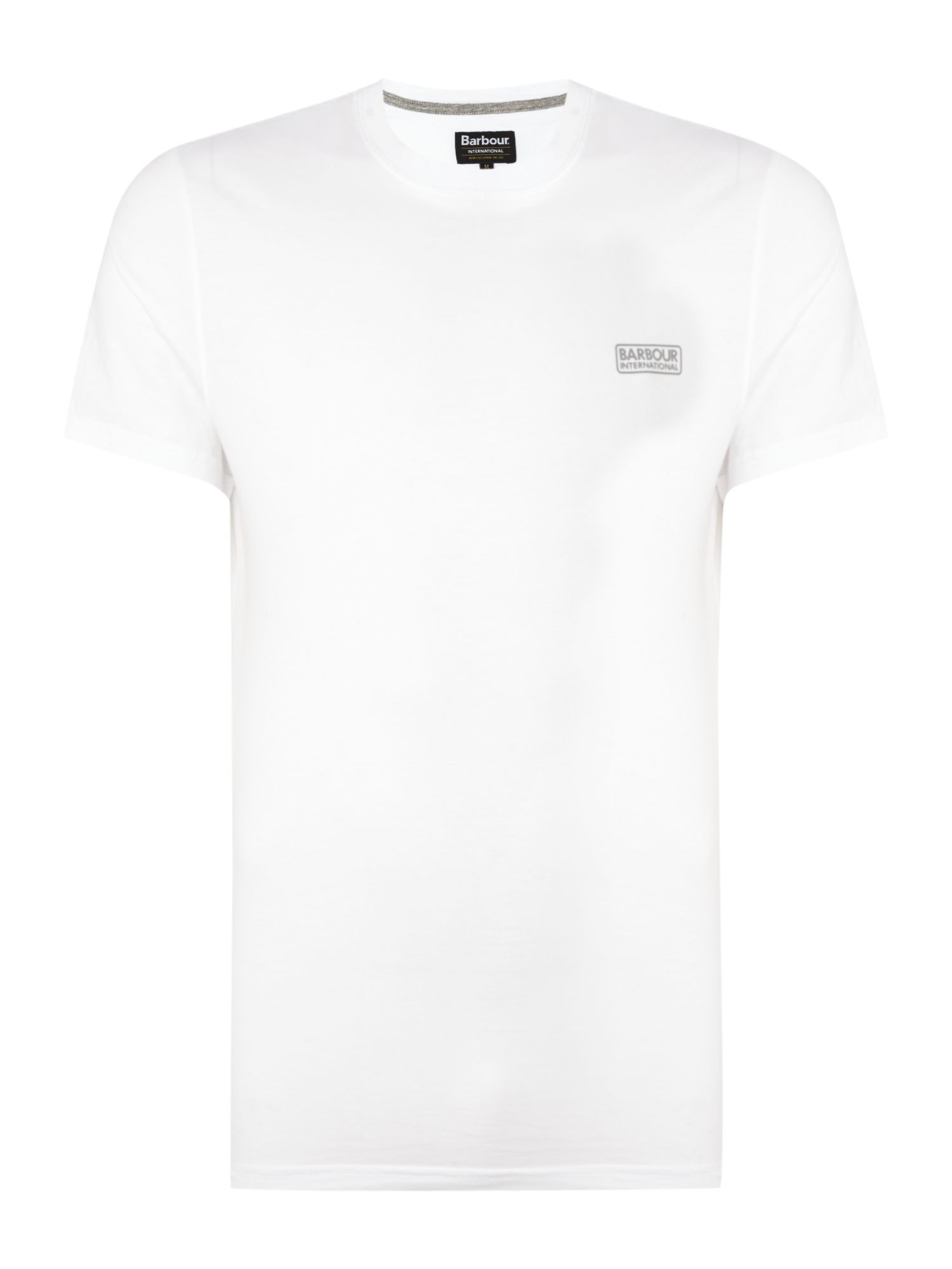 Men's Barbour International small logo T-Shirt, White