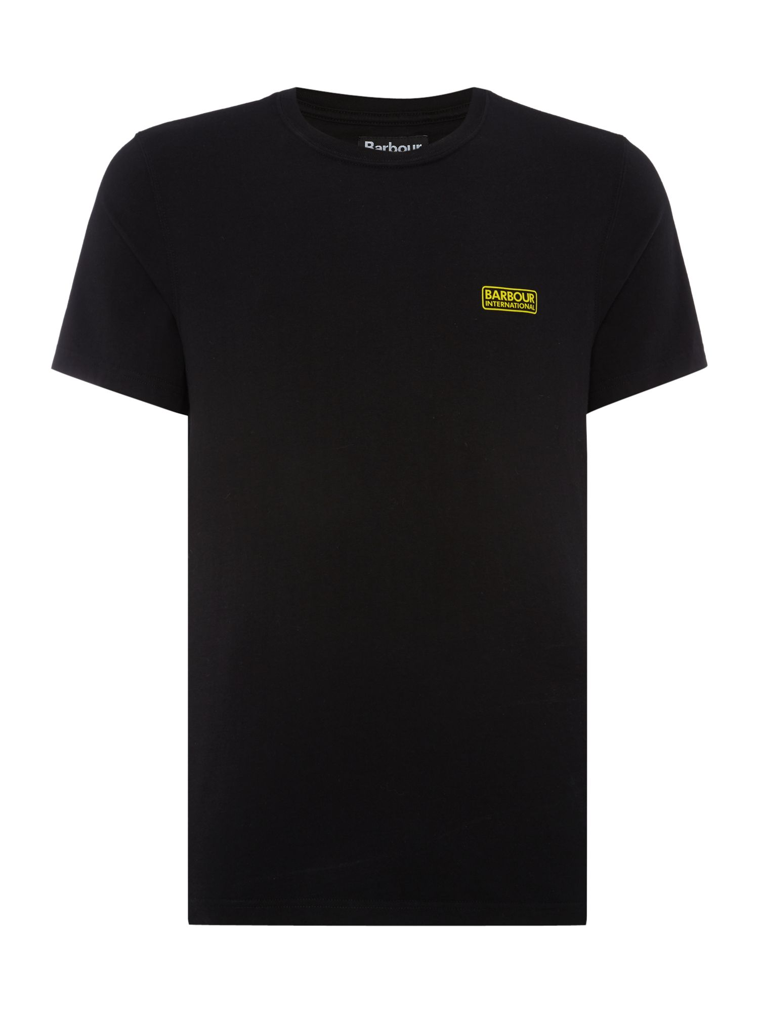 Men's Barbour International small logo T-Shirt, Black