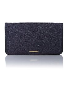 Matthew Williamson Beau purple embellished clutch bag