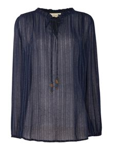 Linea Weekend Twinkle folk blouse