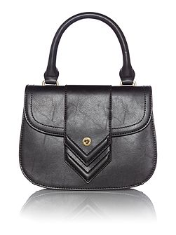 Ollie & Nic Black mini flapover crossbody bag