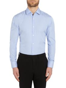 Joey Check Slim Fit Long Sleeve Classic Collar Fo