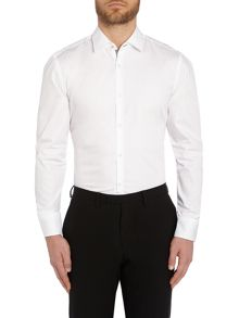Joey Plain Slim Fit Long Sleeve Classic Collar Fo