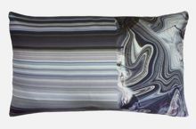 Marble 30x50cm Feather Filled Cushion