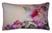 Pure Peony 30cmx50cm Feather Filled Cushion