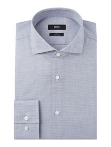 Hugo Boss Jason Pattern Slim Fit Long Sleeve Shirt
