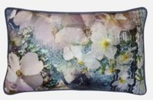 Tile Floral 30x50cm feather cushion