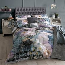 Ted Baker Tile Floral 30x50cm feather cushion