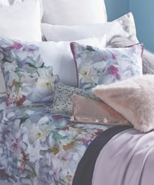 Ted Baker Aubrey Silver Cushion