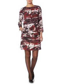Max Mara Segovia ballerina printshift dress