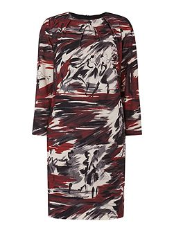 Segovia ballerina printshift dress