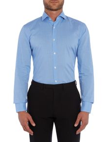 Jason Check Slim Fit Long Sleeve Classic Collar F