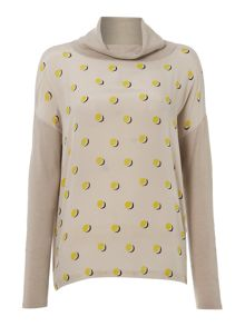 Max Mara Hateley Silk front top