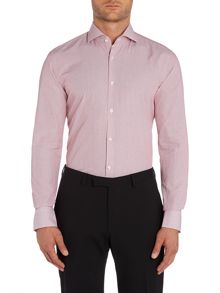 Hugo Boss Jason Stripe Slim Fit Long Sleeve Shirt