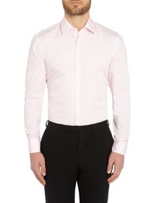 Jacob Plain Slim Fit Long Sleeve Classic Collar F