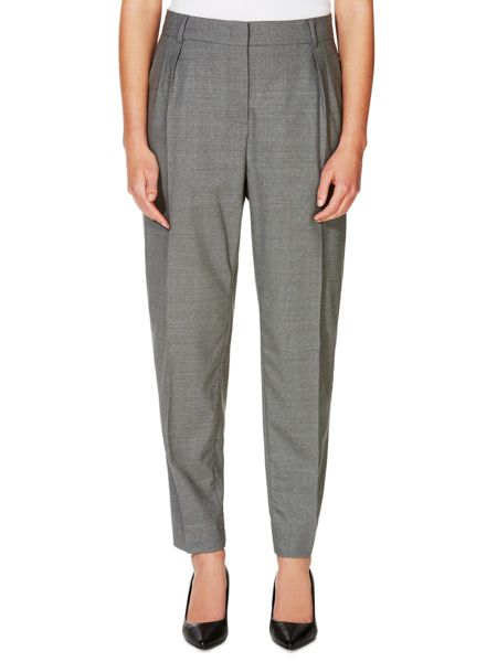 Max Mara Papy pleated front crop trouser