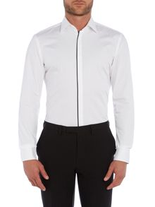 Hugo Boss Jamis Plain Slim Fit Long Sleeve Shirt