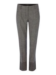Scacco cropped check trouser