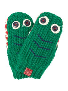 Boys Crocodile Mittens