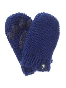 Joules Boys Baby Paw Mittens