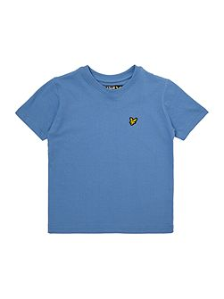 Boys Short Sleeved Crew Neck Tshirt