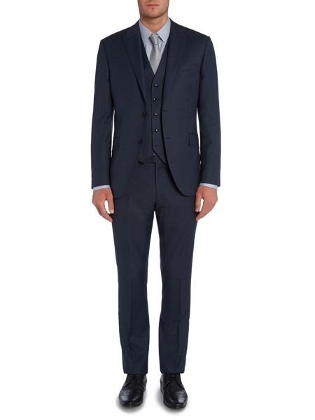 Corsivo Ermes Textured Suit Jacket
