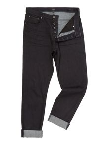 A Gold E Slim Fit Richmond Faded Dark Indigo Jeans
