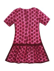 DKNY Girls lace dress