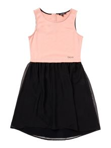 DKNY Girls sleeveless dress