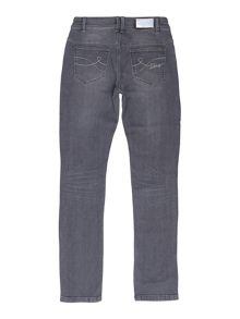 DKNY Girls denim trousers
