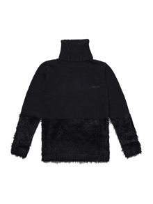 DKNY Girls turtleneck sweater