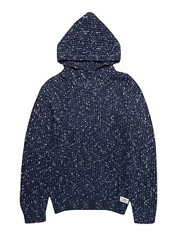 Boys quilted pullover