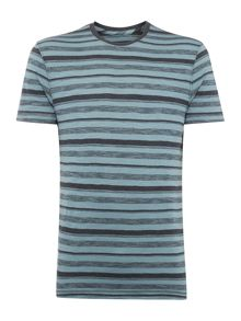 Derek Stripe Crew Neck T-Shirt