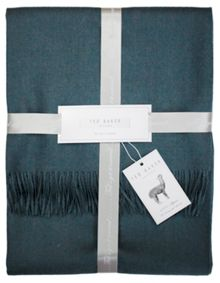 Ted Baker Arlo Teal Throw