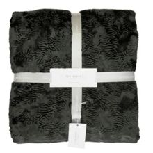 Ted Baker Pierra Charcoal Throw
