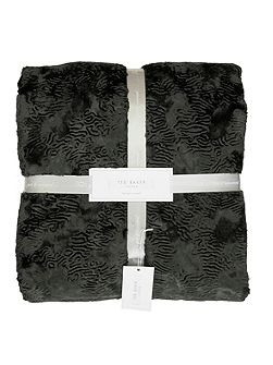 Pierra Charcoal Throw