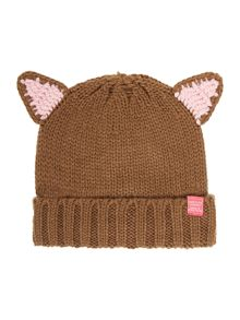 Joules Girls Fox Ear Hat