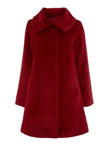 Gregory alpacca funnel neck coat