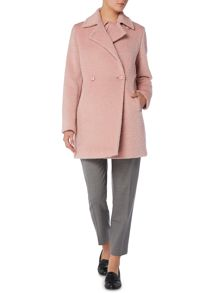 Max Mara Giralda alpaca double breasted coat