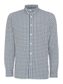 Charleston Gingham Long Sleeve Button Down Shirt
