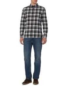Howick Underhill Checked Long Sleeve Shirt
