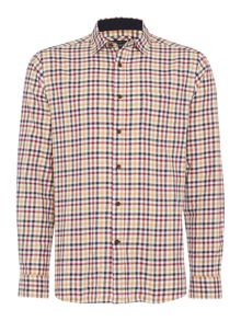 Howick Fallston Checked Long Sleeve Shirt